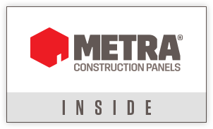 metra construction panels - improving build time, usable space and durability